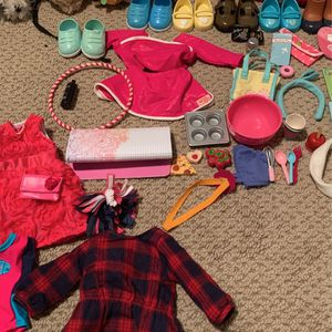 Huge Lot Of Our Generation Doll Pets Amd Accessories . Fits American Girl Doll for Sale in Santa Ana, CA