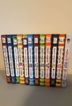 12 DIARY OF A WIMPY KID BOOKS for Sale in Fairfax, VA