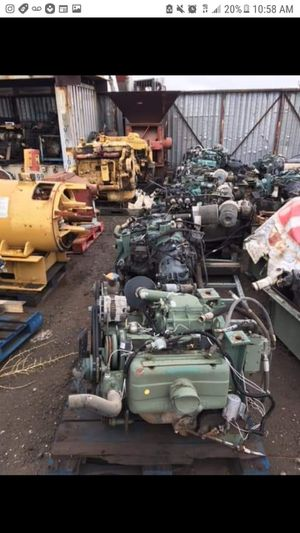 Diesel engines transmission attachments and more for Sale for sale  Fontana, CA