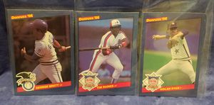 1986 Donruss Baseball Cards, Lot of 3 for Sale in Pomona, CA