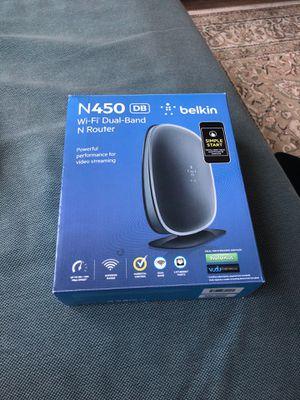 Belkin N450 Router for Sale in Fairfax, VA