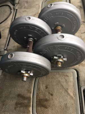 Dumbbells 💪 for Sale in Puyallup, WA