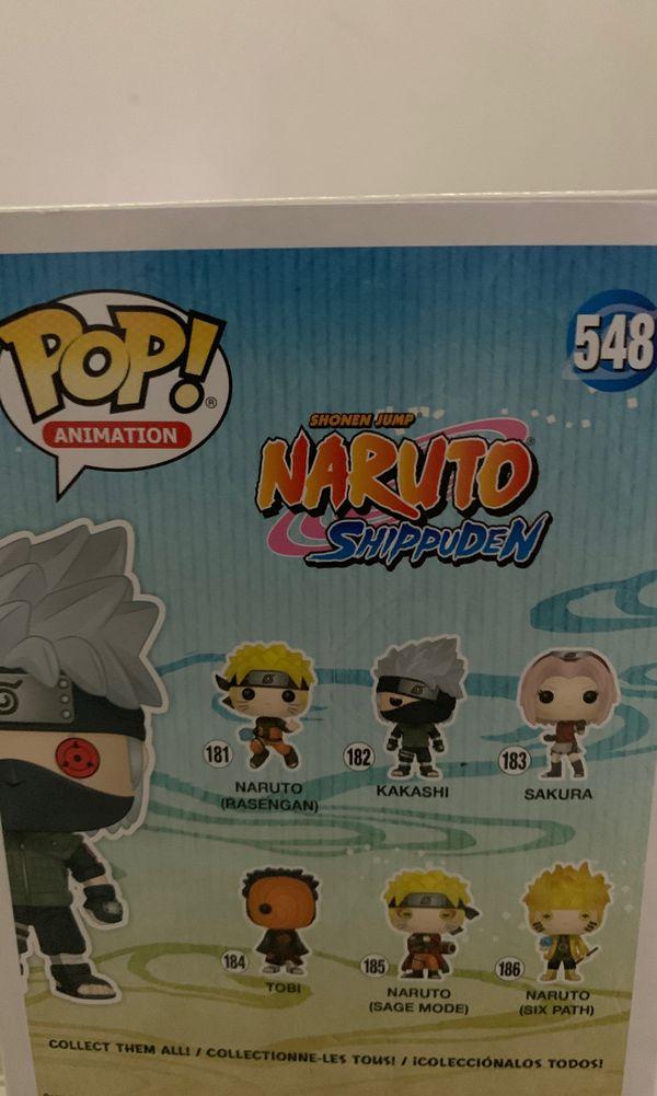 Funko pop sasuke and kakashi
