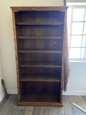 Two Wooden Bookshelves for Sale in Los Angeles, CA