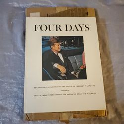 Four Days / The Historical Record Of The Death Of President Kennedy for Sale in Rochester,  NY
