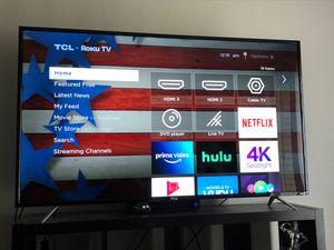 "65"" TCL ROKU Smart TV for Sale in Mukilteo, WA"
