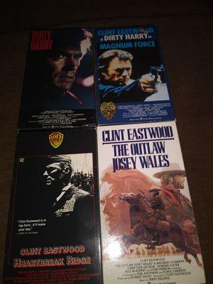 Clint Eastwood vhs for Sale in Hudson, FL