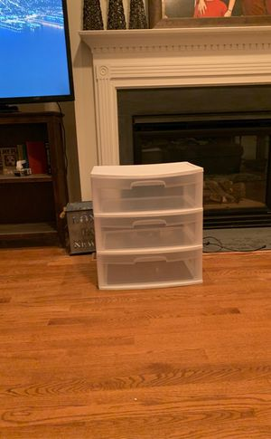 Three Drawer Plastic Container for Sale in Cary, NC