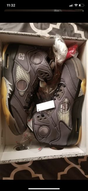Looking for off white Jordan 5s size 5 or 5.5 for Sale in Fairview, OR