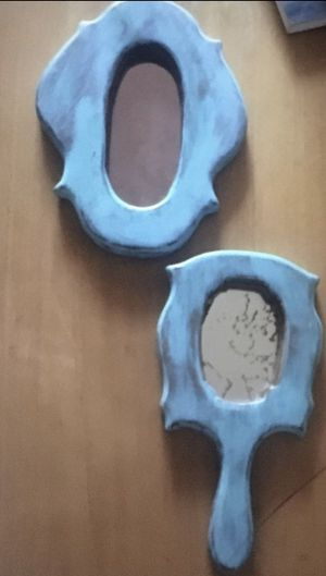 Cute Vintage hand mirror & wall mirror for Sale in Cottonwood Heights, UT