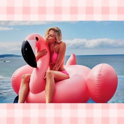 Sunnylife Giant Inflatable Flamingo Pool Float for Sale in Waltham,  MA
