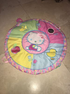 Hello Kitty baby play mat excellent condition for Sale in Dearborn, MI