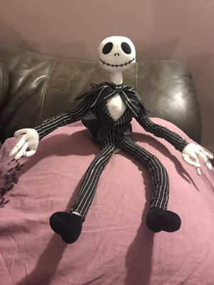Rare Nightmare Before Christmas Posable Jack Skellington Doll for Sale in Detroit, MI