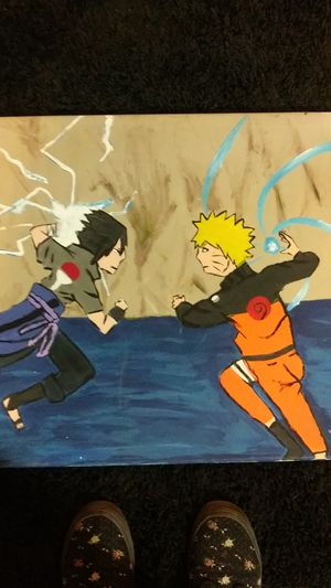 Naruto anime painting for Sale in Cicero, IL