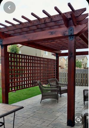 Pérgola patio, barn door, wooden decks for Sale in Tampa, FL