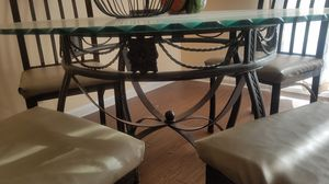 Dining table with four chairs for Sale in Nashville, TN