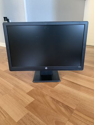 HP 20 inch computer monitor model no W2081d no chords no scratches for Sale in Santee, CA