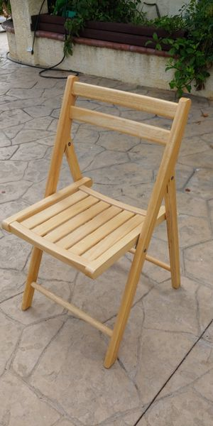 Folding Chairs wooden for Sale in Orange, CA