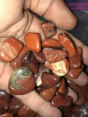 Red jasper and picture jasper available. for Sale in Clearwater, FL
