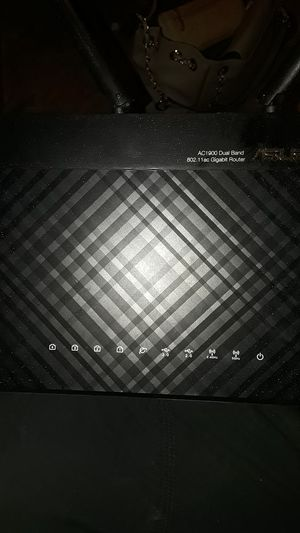 Asus dual band gigabit router for Sale in Kansas City, MO