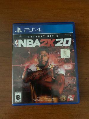 NBA 2K20 PS4 for Sale in Plantation, FL