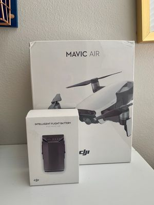 DJI Mavic Air Drone w/ remote & additional Battery for Sale in Tampa, FL