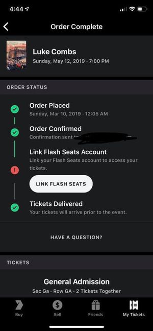 Luke combs tickets for Sale in Greeley, CO