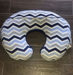 Boppy pillow blue with cover for Sale in Lakeview, CA