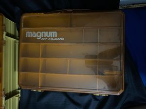 2 Magnum by Plano tackle boxes for Sale in Northfield, OH