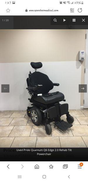 Quantum Q6 edge 2.0 electric wheelchair for Sale in Castleton, IN