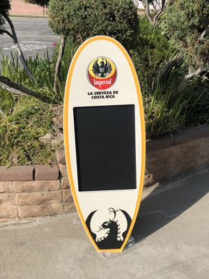 """Imperial Surfboard Wall Chalkboard Beer Bar """"New"""" for Sale in Monterey Park, CA"""