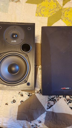 Polk audio 100watt speakers model T15 for Sale in Oregon City, OR