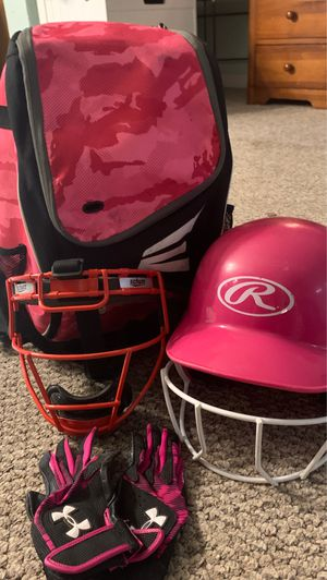 Softball kit / used for Sale in Oviedo, FL