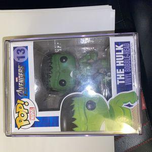 OG Avengers Hulk Funko Pop Damaged for Sale in Irving, TX