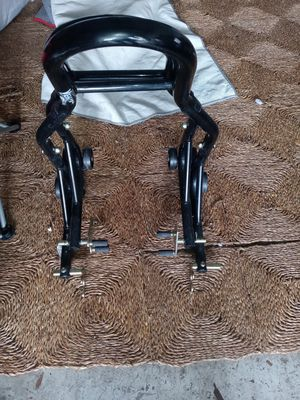 Motorcycle stands front an rear // sena Bluetooth headset for Sale in Riverview, FL