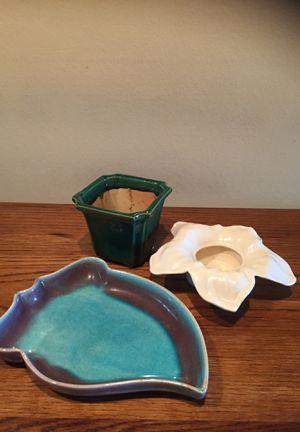 Vintage pottery ceramic planters pots for Sale in Kent, WA