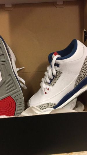 Brand new retro true blue Jordan 3s for Sale in Chevy Chase, MD