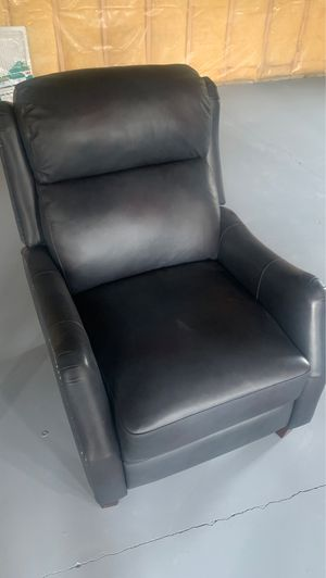 Faux leather recliner for Sale in Bellefonte, PA