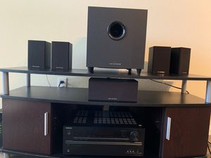 Onkyo 7.2 receiver with Monoprice 5.1 speaker set for Sale in Burbank, CA