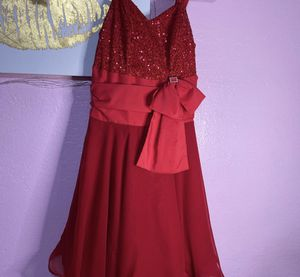 Custom red dress for Sale in NEW PRT RCHY, FL