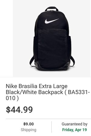 Nike Brasilia XL Backpack for Sale in Grove City, OH