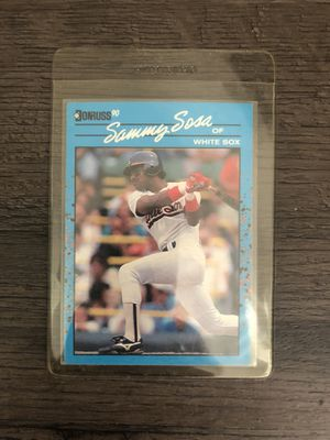 Sammy Sosa vintage rookie card for Sale in Culver City, CA