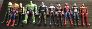 $55 Marvel avengers lot 10 figures like new condition for Sale in Las Vegas, NV