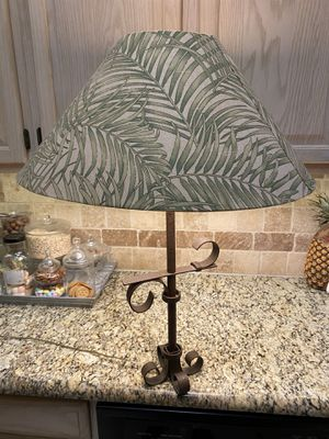 Federick cooper table lamp tropical for Sale in Flower Mound, TX