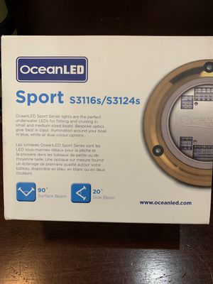 OceanLED Sport S3116s/S3124s Boat Lights for Sale in Staten Island, NY