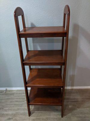 Wood standing shelf for Sale in Gilbert, AZ