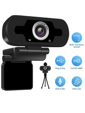 Anivia 1080p HD Webcam W8, USB Desktop Laptop Camera, Mini Plug and Play Video Calling Computer Camera, Built-in Mic, Flexible Rotatable Clip for Sale in La Puente, CA