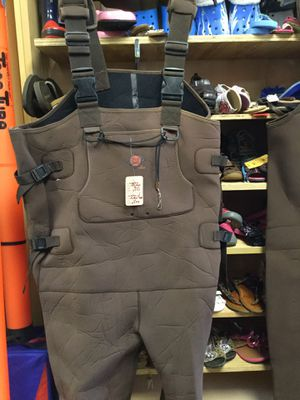 Waders with rubber boots for Sale for sale  Matawan, NJ