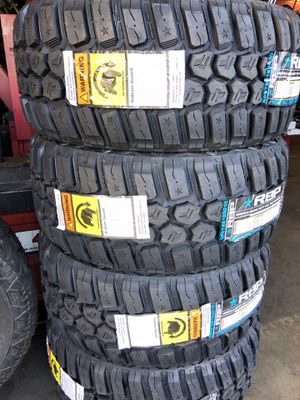 33/12.50R22 RBP Tires M/T (4 for $900) for Sale in Whittier, CA