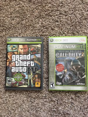 2 games Xbox 360 for Sale in Austin, TX